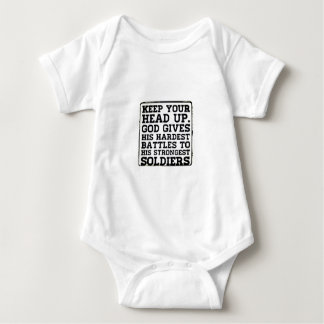 Keep your Head up Baby Bodysuit