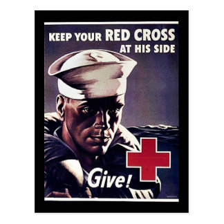 Keep Your Red Gross At His Side Postcards
