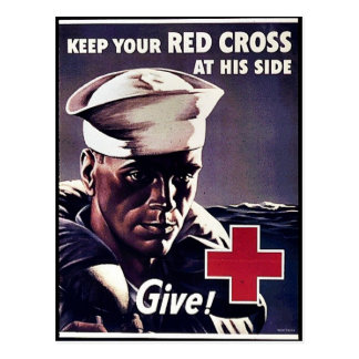 Keep Your Red Gross At His Side Postcard