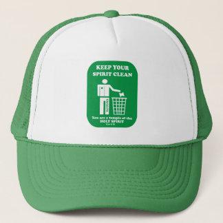 Keep your spirit clean cap