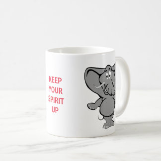 keep your spirit up mug