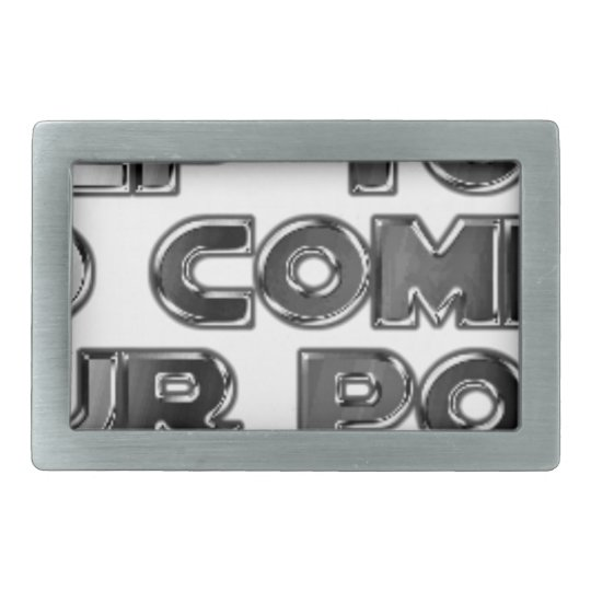 Keep your stupid comments belt buckle