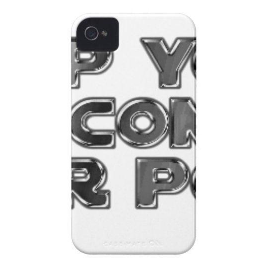 Keep your stupid comments Case-Mate iPhone 4 case