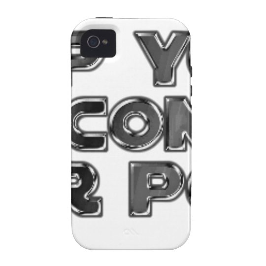 Keep your stupid comments iPhone 4/4S cover