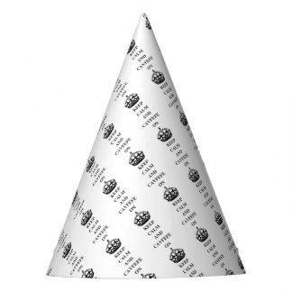 KEEPCALMANDCAVFEFE ON (1) PARTY HAT