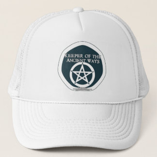 Keeper of the ancient ways trucker hat
