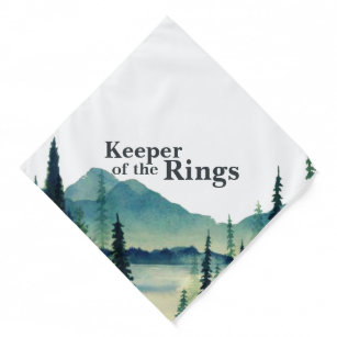 Keeper of the Rings   Dog in Wedding Pet  Bandana