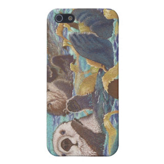 Keepers of the Kelp - sea otters Case For iPhone 5/5S