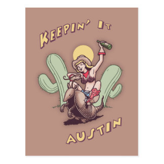 Keepin' It Austin Postcard
