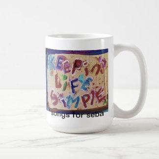 keepin life simple mug