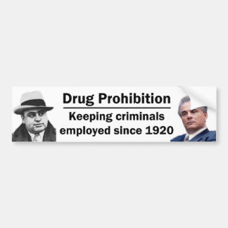 Keeping Criminals Employed Bumper Sticker