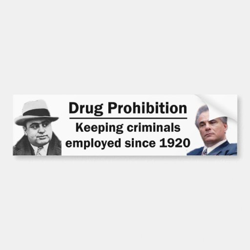 Keeping Criminals Employed Bumper Stickers
