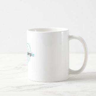 keeping it simple basic white mug