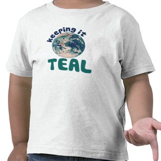 Keeping it Teal T-shirts
