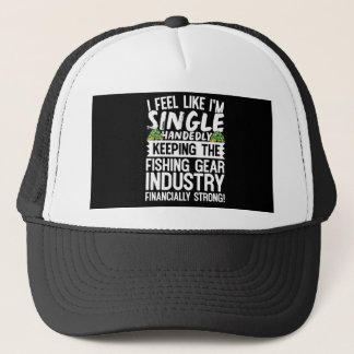 Keeping the Fishing Industry Financially Strong Trucker Hat