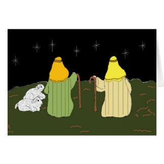 Keeping Watch - Christmas card
