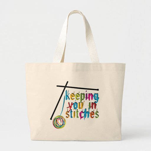 keeping you in stitches-knit tote bags
