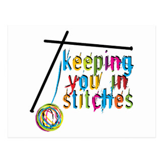 keeping you in stitches-knit postcards