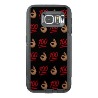 #Keepit100 Emoji Samsung Galaxy S6 Otterbox Case