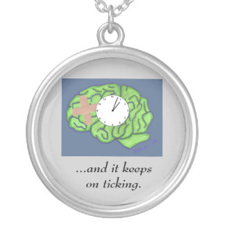 """""""Keeps on ticking"""" necklace"""