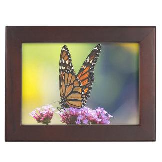 Keepsake Box , monarch butterfly.