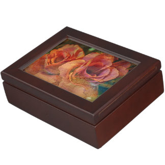 Keepsake Box - Vintage Rose