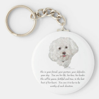 Keepsake, Female Dog Key Ring