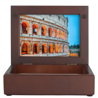 Keepsake gift box Colosseum Rome Italy