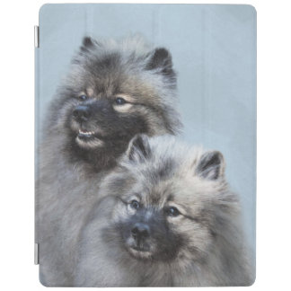 Keeshond Brothers iPad Cover