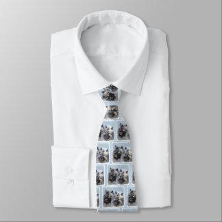 Keeshond Brothers Tie
