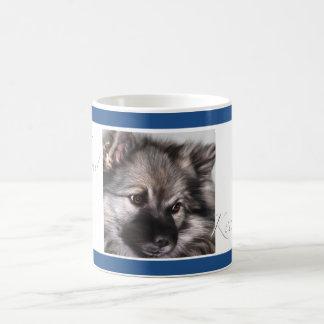 Keeshond coffee mug