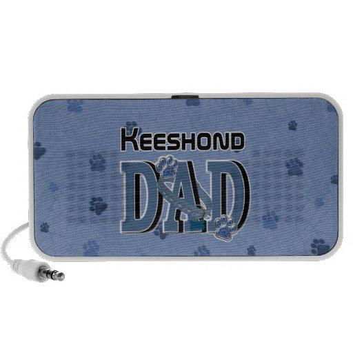 Keeshond DAD Speaker System