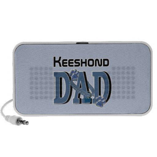 Keeshond DAD Mini Speakers