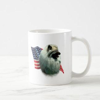 Keeshond Flag Coffee Mug