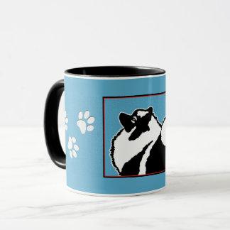 Keeshond (Graphics 2) Mug
