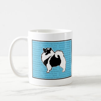 Keeshond Graphics  - Cute Original Dog Art Coffee Mug