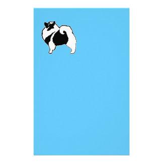 Keeshond Graphics  - Cute Original Dog Art Stationery
