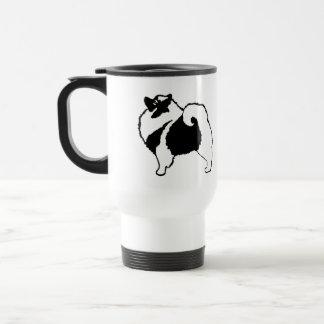 Keeshond Graphics  - Cute Original Dog Art Travel Mug