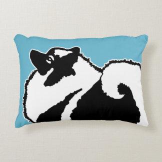 Keeshond Graphics Decorative Cushion