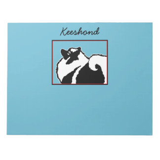 Keeshond Graphics Notepad