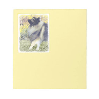 Keeshond in Aspen Notepad