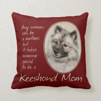 Keeshond Mom Pillow
