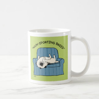 "Keeshond ""Non-Sporting Breed"" Coffee Mug"