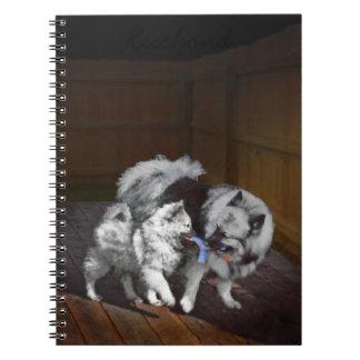 Keeshond Playtime Notebooks