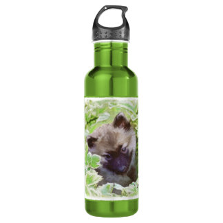 Keeshond Puppy 710 Ml Water Bottle