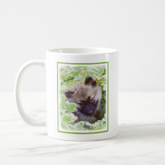 Keeshond Puppy Coffee Mug