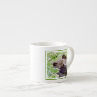 Keeshond Puppy Espresso Cup