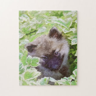Keeshond Puppy Puzzles