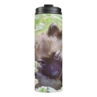 Keeshond Puppy Thermal Tumbler