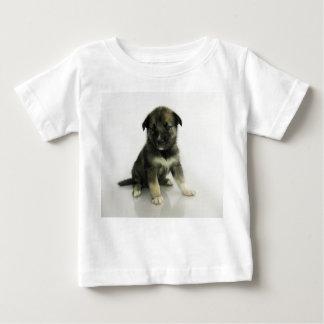 Keeshond Siberian Husky Crossbreed Puppy Baby T-Shirt
